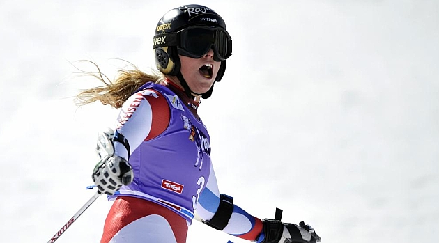 La suiza Lara Gut se anota el primer triunfo de la temporada