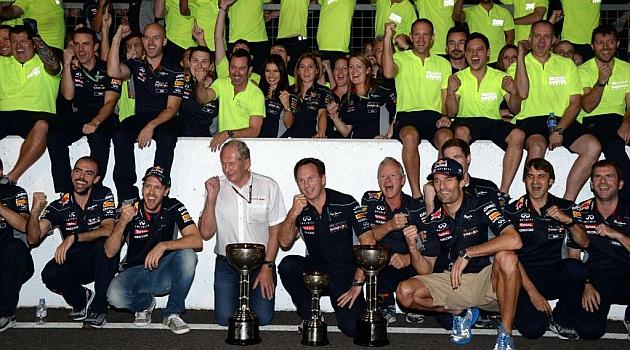 Red Bull tambi�n logra su cuarto Mundial