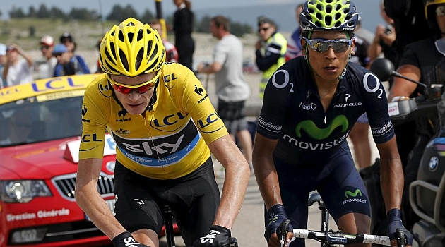 Froome y Quintana, ganadores de los premios Velo d'Or