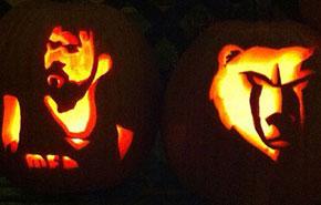 Las calabazas de Halloween NBA