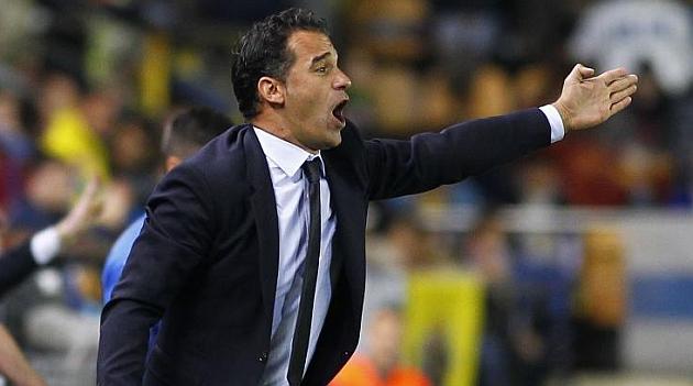 Luis Garc�a: Espero al Valencia m�s peligroso de la Liga