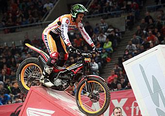 Toni Bou también es siete veces campeón de España de Trial Indoor