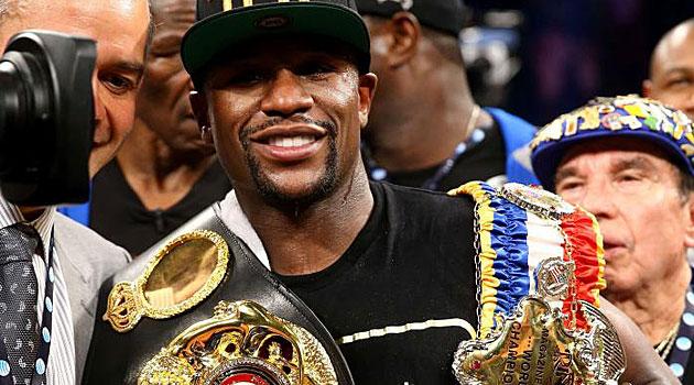 Mayweather, campeón supremo del Consejo Mundial de Boxeo