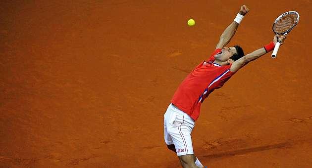 Djokovic y Berdych lideran sus equipos