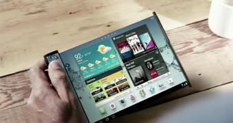 Samsung lanzará pantallas flexibles en 2014 y plegables en 2016