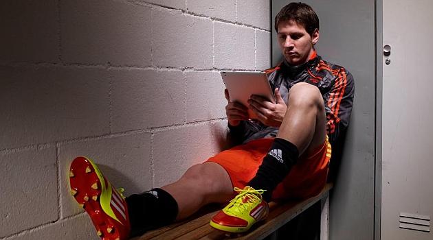 Adidas manifiesta que su relaci�n con Messi es s�lo publicitaria