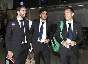 Mel prepara un once parecido al de Málaga para el partido de mañana en Portugal