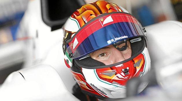 Raffaele Marciello (18), sobre el Trident de GP2 en Abu Dabi.