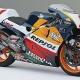 Las motos del equipo Repsol Honda, desde 1995 a 2013