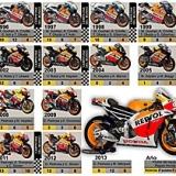 Todas las motos del equipo Repsol Honda