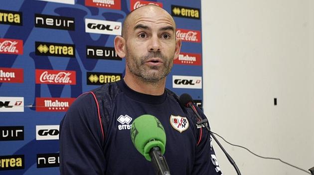 Paco Jémez, en una rueda de prensa / RUBÉN DE PEDRO (MARCA)