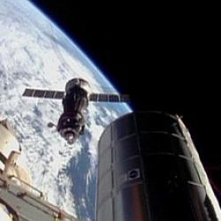 La antorcha ol�mpica llega a la Estaci�n Espacial Internacional