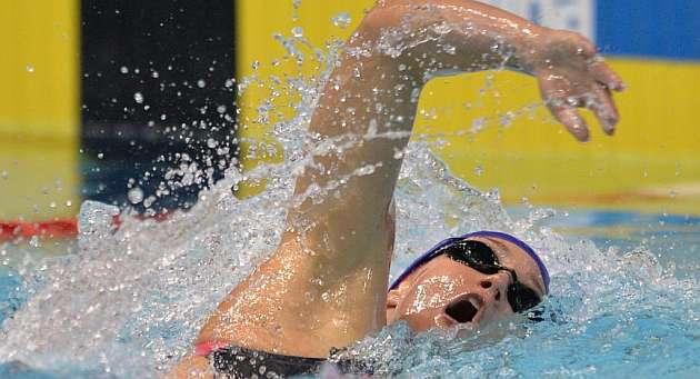 Mireia Belmonte, medalla de plata en los 800 libre
