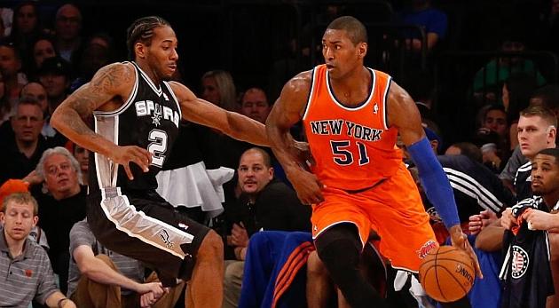 Los Spurs revientan el Madison y los Suns funden a los Pelicans