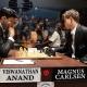 Nuevas tablas de tanteo entre Anand y Carlsen