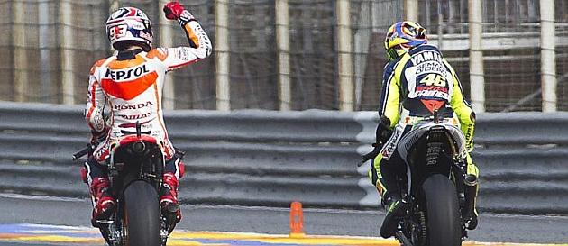 Rossi: Parece que Márquez ganará muchos títulos