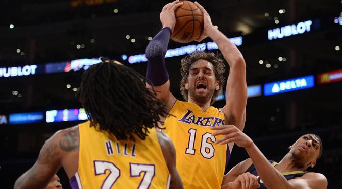 Pau Gasol y los Lakers se vengan de 'La Ceja'
