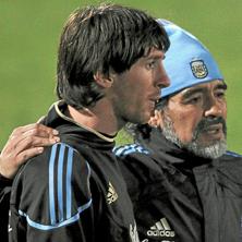 Maradona, Messi y viceversa