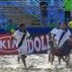 Espectacular gol de chilena del Barcelona de f�tbol playa