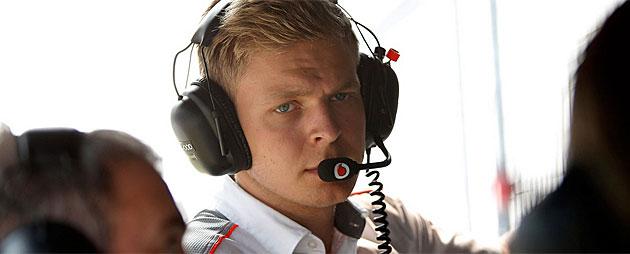 McLaren confirma el fichaje de Magnussen
