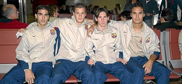 Navarro: Cuánto ha crecido Messi desde entonces...