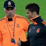 Ancelotti y CR7