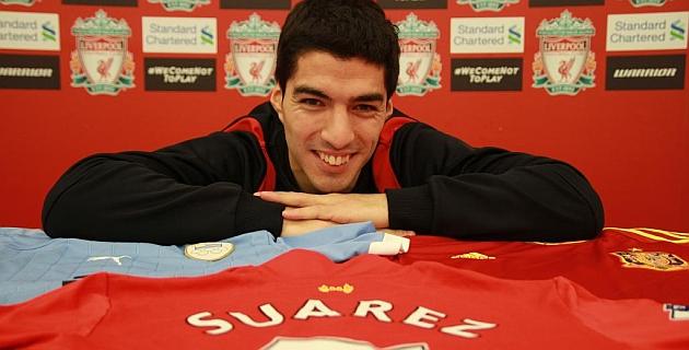 Suárez en vivo para Liverpool