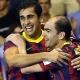 El Barcelona, l�der provisional