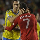 Ibrahimovic y Cristiano