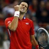 Djokovic golpea primero en la final de la Davis