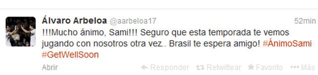 ¡Ánimo, Brasil te espera, amigo!
