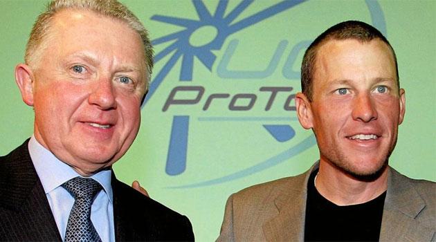 Armstrong desvela que Verbruggen tap� un positivo suyo
