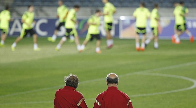 Del Bosque: No-one has secured a place in Brazil