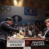 Anand no encuentra la forma de abrir el muro de Carlsen