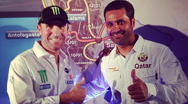 Peterhansel y Al Attiyah serán compañeros en el Dakar 2014