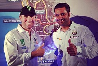 Al Attiyah, con Mini en el Dakar 2014