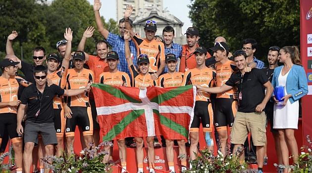 El Euskaltel aplica un ERE a sus corredores