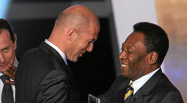 Pel�: Zidane fue a�n mejor que Messi