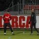 Villa vuelve a entrenarse con el grupo y Diego Costa trabaja aparte