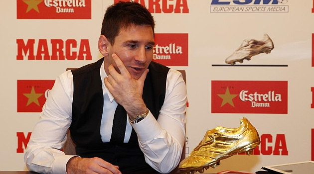 Messi: Mi vida est� en el Bar�a