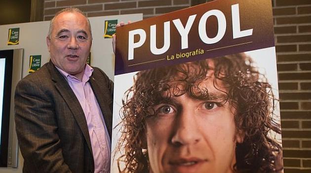 Lluis Lainz presenta la biograf�a de Puyol