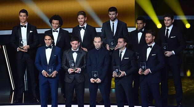 El Real Madrid elige a sus candidatos para el FIFA FIFPRO
