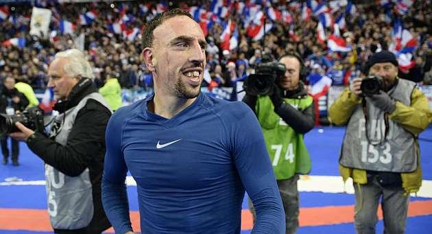 Ribery no jugar� frente al Dortmund