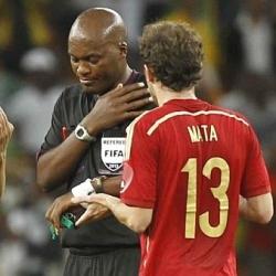 La FIFA expulsar� al �rbitro del Sud�frica-Espa�a