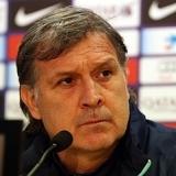 Martino: Nos faltan el mejor jugador y el mejor portero del mundo