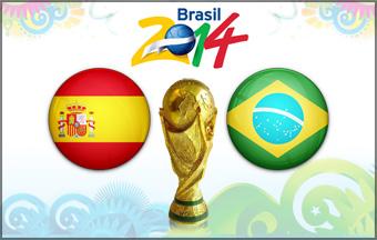 España y Brasil son las favoritas para el Mundial