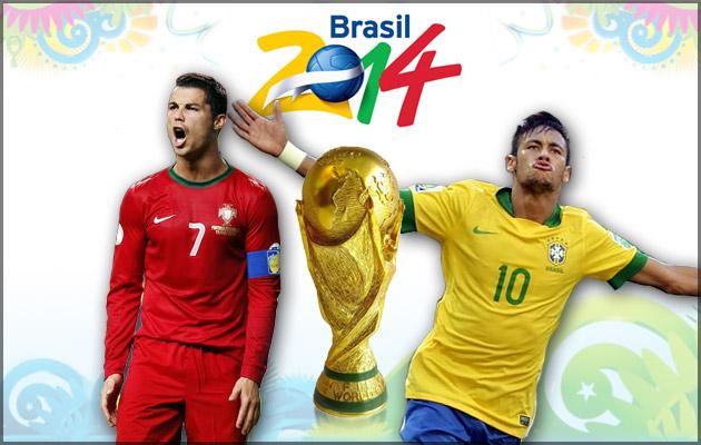 Cristiano y Neymar serán los triunfadores en Brasil