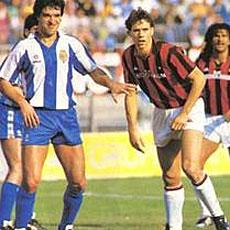 Cuando el Espanyol de Clemente secó al Milan de Sacchi