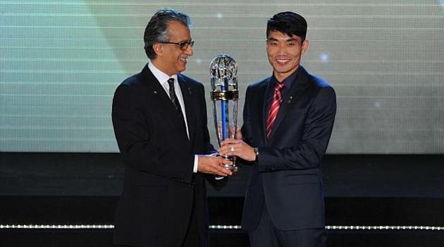 El chino Zheng Zhi, elegido mejor jugador asiático del año