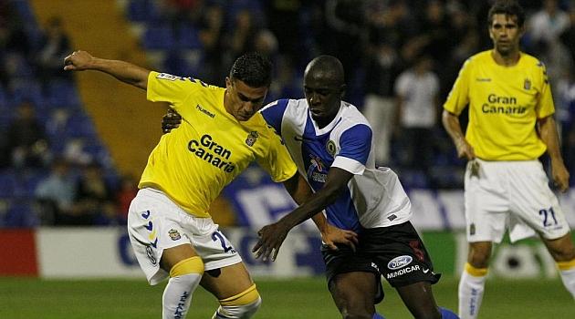 Sissoko, durante el partido ante Las Palmas / Manuel Lorenzo (Marca)